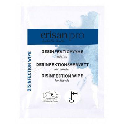 Kiilto Erisan desinfitseerivad puhastuslapid kätele1tk pakis