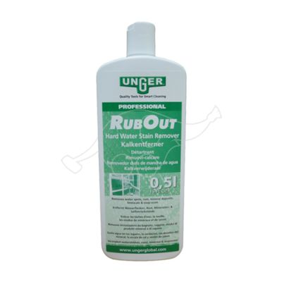Unger Rub Out 500ml  limescale stain remover for glass