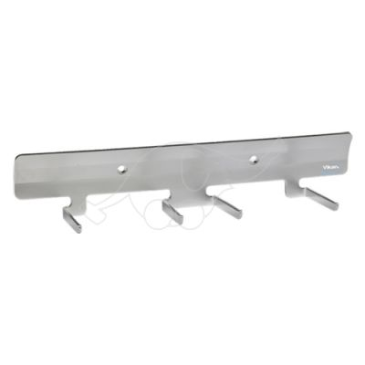 Vikan wall bracket stainless steel 305mm for 4 tools