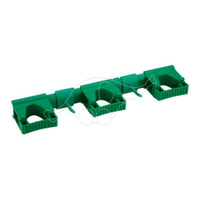 Vikan Hi-Flex Wall Bracket System 3+2, 420 mm, Green