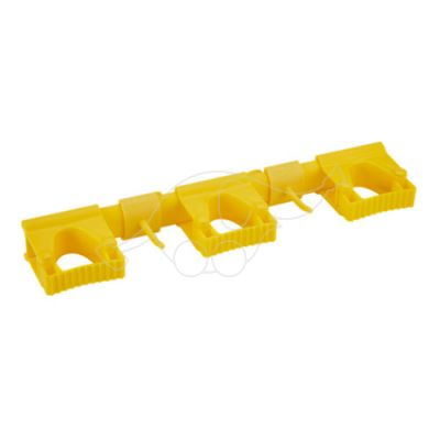 Vikan Hi-Flex Wall Bracket System 3+2, 420 mm, Yellow