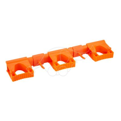 Vikan Hi-Flex Wall Bracket System 3+2, 420 mm, Orange