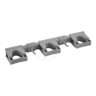 Vikan Hi-Flex Wall Bracket System 3+2, 420 mm, grey