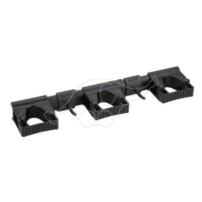 Vikan Hi-Flex Wall Bracket System 3+2, 420 mm, Black