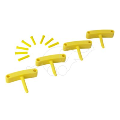 Hook x 4 for 1017 and 1018 yellow R:V1012x