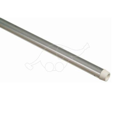 Aluminium handle threaded 22x1500mm