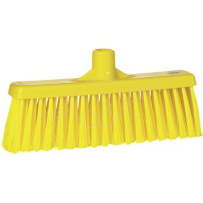 Broom with straight neck 310mm medium yellow