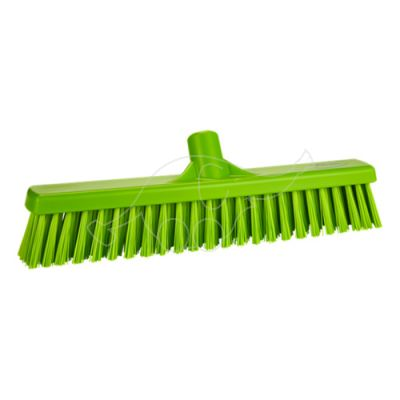 Soft/Stiff floor broom 410mm lime
