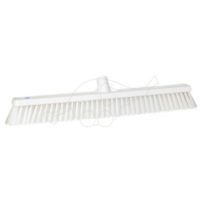 Soft/stiff floor broom 610mm white