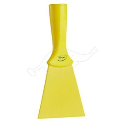 Nylon Hand Scraper, 100mm Yellow