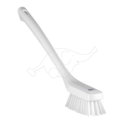 Vikan Narrow Cleaning Brush Long Handle, 420 mm, Hard,white