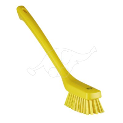 Vikan Narrow Cleaning Brush with Long Handle, 420 mm, Hard,