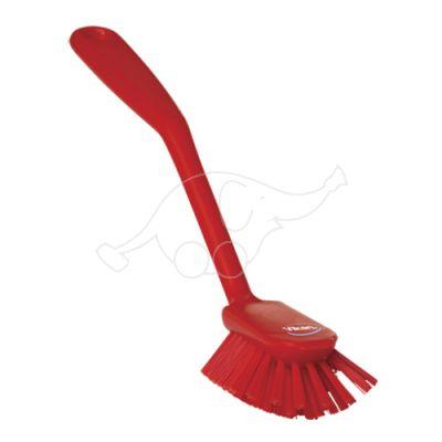 Vikan nõudepesuhari 280mm, kraapiv serv, keskmine, punane
