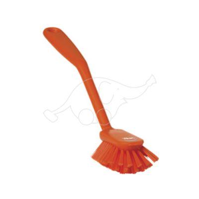 Vikan nõudepesuhari 280mm, kraapiv serv, keskmine, oranz