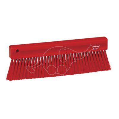 Powder brush 300mm red