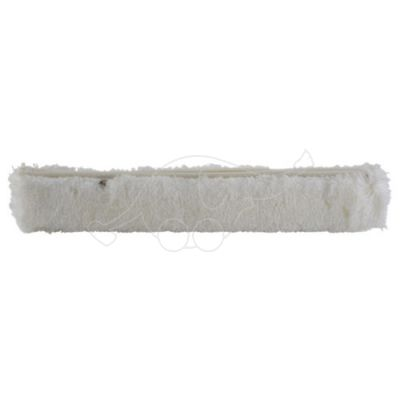 Wash fleece sleeve, 400mm, white
