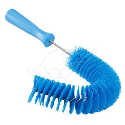 Vikan Pipe Exterior Brush, 360 mm, Medium, Blue