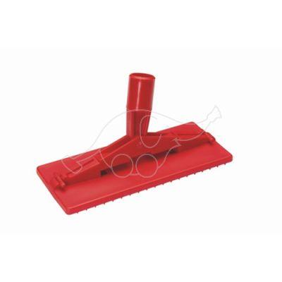 Vikan hõõrumisplaadi alus varrekinnitusega 235mm, punane