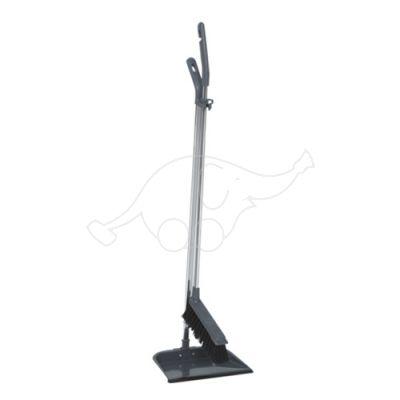 Vikan longhandled brush/dustpan set, 900m  metal
