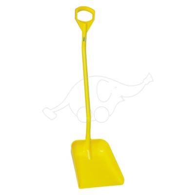 Shovel long handle large blade 1300mm yellow