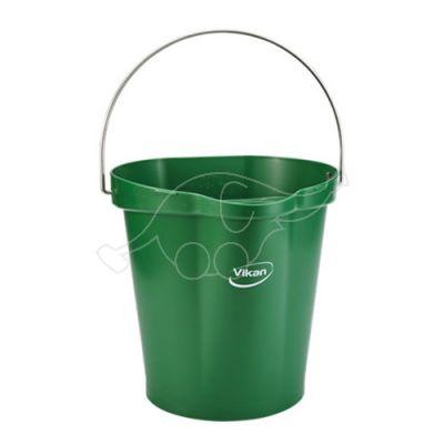 Vikan bucket 12L, green