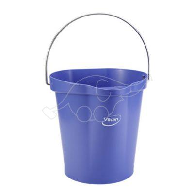 Vikan bucket 12L,  purple