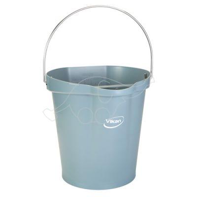 Vikan bucket 12L,  grey
