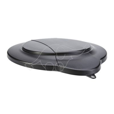 Bucket lid black