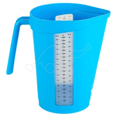 Measuring jug, 2 Litre, blue