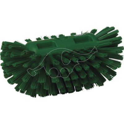 Stiff tank brush green