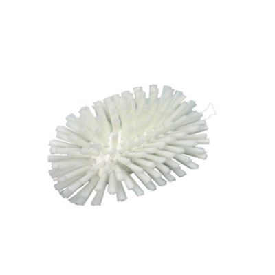 Stiff tank brush white