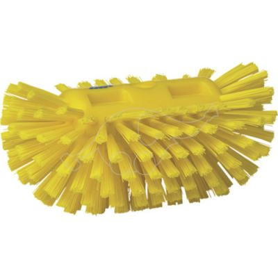 Tank Brush Stiff Yellow