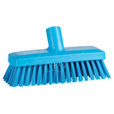 Compact Wall/Deck Scrub 225 mm, Hard,blue