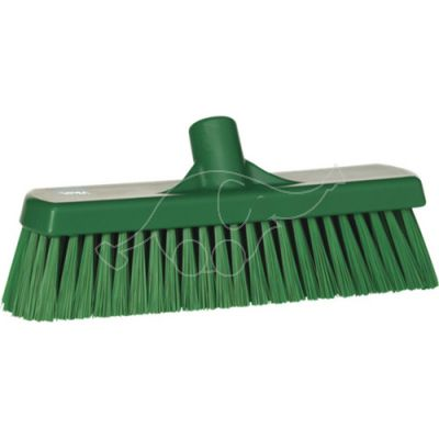 Medium floor broom, 300 mm green
