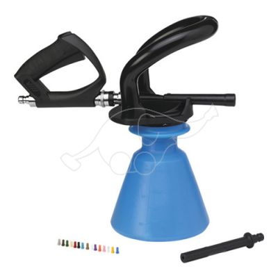 "Vikan Ergo 2,5L foam sprayer +  jet spray, 1/2""(Q), blue"