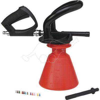 "Vikan Ergo 2,5L foam sprayer +  jet spray, 1/2""(Q), red"