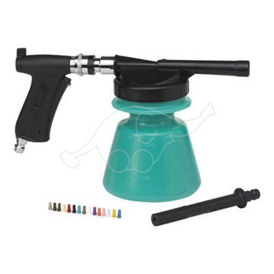 """Vikan 1,4L foam sprayer, rincl. jet spray, 1/2""""(Q),  green"""