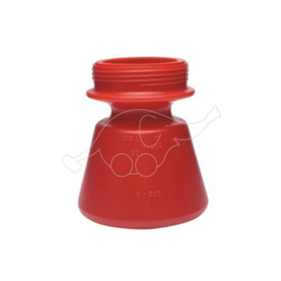Vikan spare container 1,4L for foam sprayer, Red