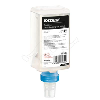Katrin hand desinfiction gel 500ml Touchfree
