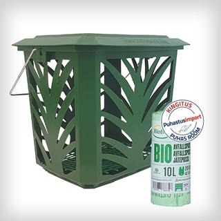 BioBag-prügikonteiner-komposteeritavad-ptügikotid-10L